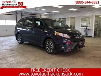 2019 Toyota Sienna XLE AWD 7-Passenger Automatic Regular Unleaded V-6 3.5 L/211 Engine Van