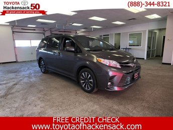 2019 Toyota Sienna XLE Premium AWD 7-Passenger Van Regular Unleaded V-6 3.5 L/211 Engine Automatic 4 Door
