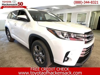 2019 Blizzard Pearl Toyota Highlander Limited Platinum V6 AWD Regular Unleaded V-6 3.5 L/211 Engine SUV Automatic