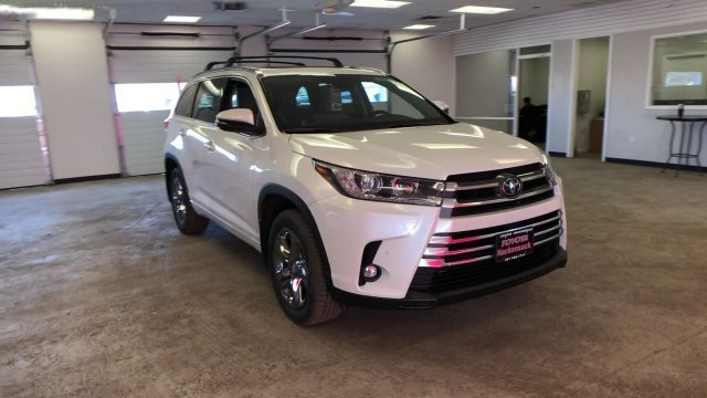 2019 Toyota Highlander Limited Platinum V6 AWD SUV Automatic Regular Unleaded V-6 3.5 L/211 Engine AWD