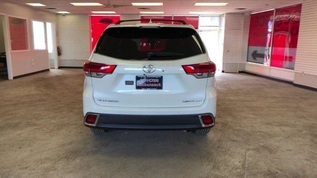 2019 Blizzard Pearl Toyota Highlander Limited Platinum V6 AWD SUV Regular Unleaded V-6 3.5 L/211 Engine AWD Automatic 4 Door
