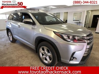2018 Toyota Highlander Limited V6 AWD AWD Regular Unleaded V-6 3.5 L/211 Engine SUV 4 Door
