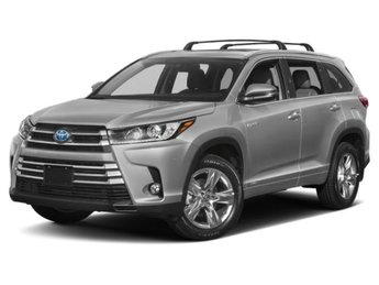 2019 Toyota Highlander Hybrid XLE V6 AWD 4 Door SUV Gas/Electric V-6 3.5 L/211 Engine