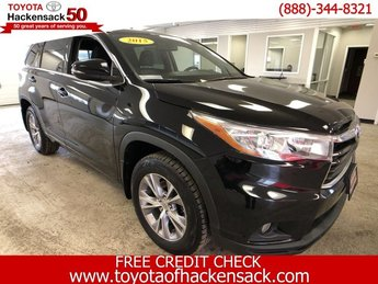 2015 Attitude Black Metallic Toyota Highlander XLE Regular Unleaded V-6 3.5 L/211 Engine Automatic AWD 4 Door
