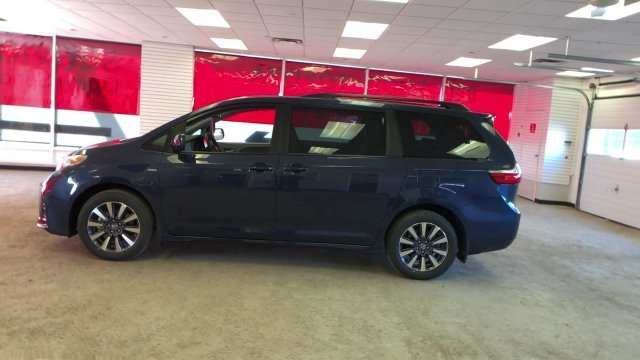 2019 Parisian Night Pearl Toyota Sienna LE AWD 7-Passenger Regular Unleaded V-6 3.5 L/211 Engine 4 Door Automatic AWD