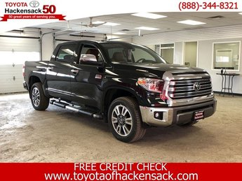 2019 Midnight Black Metallic Toyota Tundra 1794 Edition CrewMax 5.5 Bed 5.7L 4X4 4 Door Regular Unleaded V-8 5.7 L/346 Engine Automatic