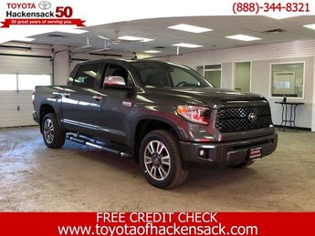 2019 Magnetic Gray Metallic Toyota Tundra Platinum CrewMax 5.5 Bed 5.7L 4X4 Truck Automatic