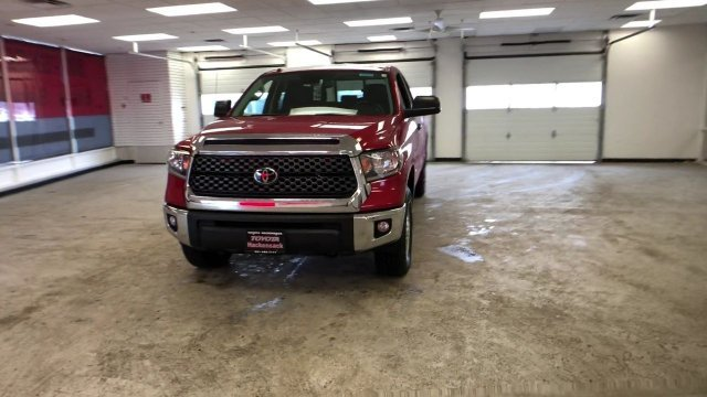 2019 Barcelona Red Metallic Toyota Tundra SR5 Double Cab 6.5 Bed 4.6L Truck Regular Unleaded V-8 4.6 L/281 Engine 4 Door