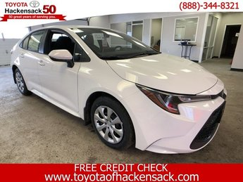 2020 Toyota Corolla LE CVT Sedan Regular Unleaded I-4 1.8 L/110 Engine 4 Door Automatic (CVT)