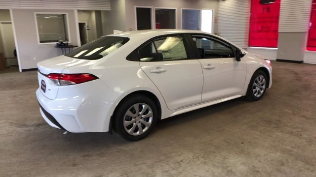 2020 Super White Toyota Corolla LE CVT Regular Unleaded I-4 1.8 L/110 Engine 4 Door FWD