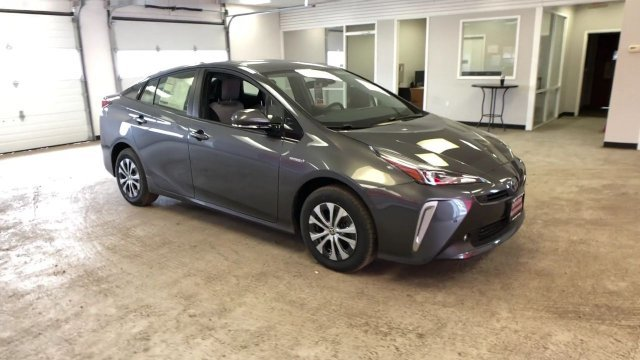 2019 Magnetic Gray Metallic Toyota Prius LE AWD-e 4 Door Hatchback AWD