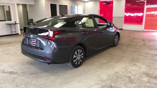 2019 Magnetic Gray Metallic Toyota Prius LE AWD-e Automatic (CVT) Hatchback AWD Gas/Electric I-4 1.8 L/110 Engine 4 Door