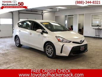 2016 Super White Toyota Prius v Two 4 Door Automatic (CVT) FWD