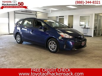 2016 Blue Ribbon Metallic Toyota Prius v Three Gas/Electric I-4 1.8 L/110 Engine 4 Door Crossover
