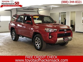 2018 Toyota 4Runner TRD OFF ROAD PREM SUV Regular Unleaded V-6 4.0 L/241 Engine Automatic 4X4 4 Door