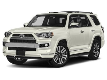2019 Blizzard Pearl Toyota 4Runner Limited 4WD SUV 4X4 4 Door Automatic Regular Unleaded V-6 4.0 L/241 Engine
