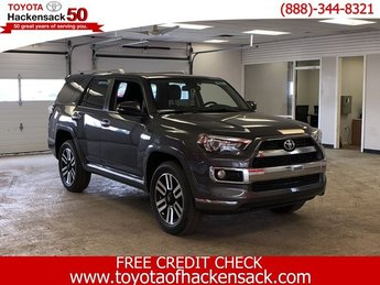 2019 Magnetic Gray Metallic Toyota 4Runner Limited 4WD Automatic SUV 4X4 Regular Unleaded V-6 4.0 L/241 Engine