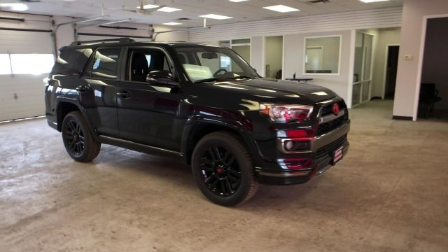 2019 Midnight Black Metallic Toyota 4Runner Limited Nightshade 4WD Automatic Regular Unleaded V-6 4.0 L/241 Engine 4 Door