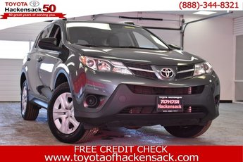 2015 Magnetic Gray Metallic Toyota RAV4 LE 4 Door Automatic SUV AWD