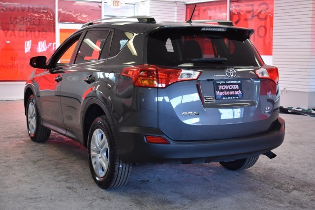 2015 Magnetic Gray Metallic Toyota RAV4 LE AWD Automatic SUV 4 Door