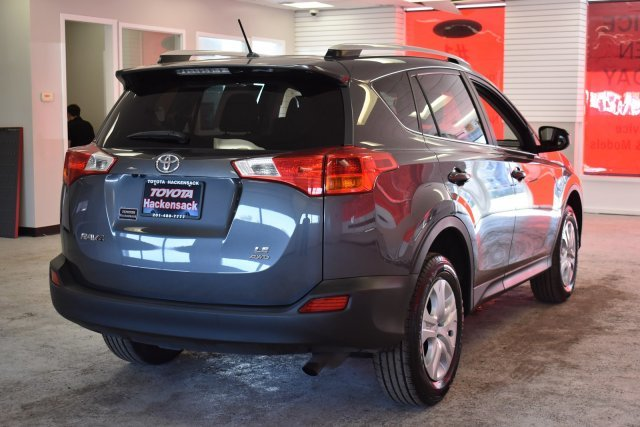 2015 Magnetic Gray Metallic Toyota RAV4 LE 4 Door AWD Regular Unleaded I-4 2.5 L/152 Engine SUV