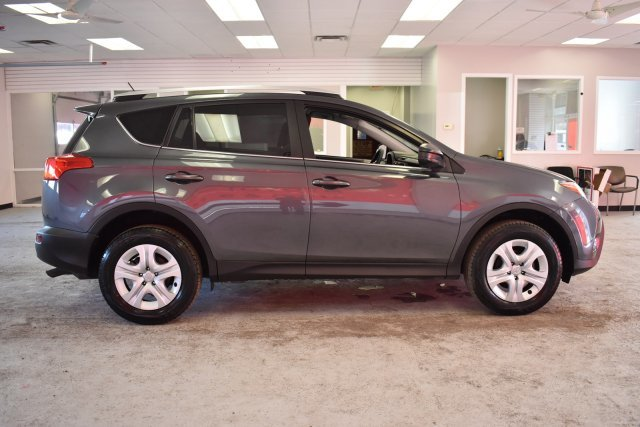 2015 Magnetic Gray Metallic Toyota RAV4 LE Automatic 4 Door Regular Unleaded I-4 2.5 L/152 Engine AWD SUV