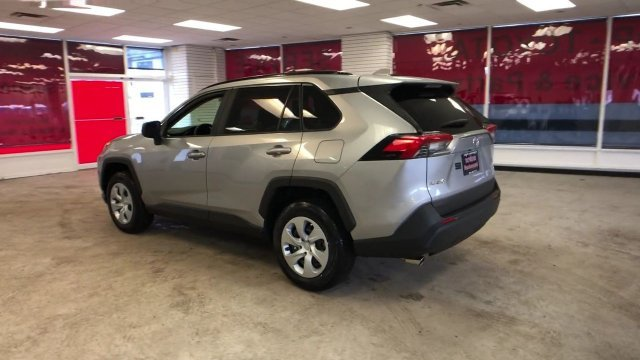 2019 Silver Sky Metallic Toyota RAV4 LE AWD 4 Door Regular Unleaded I-4 2.5 L/152 Engine AWD SUV Automatic