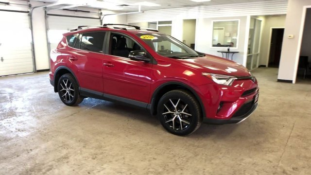 2016 Barcelona Red Metallic Toyota RAV4 SE AWD SUV 4 Door Automatic Regular Unleaded I-4 2.5 L/152 Engine
