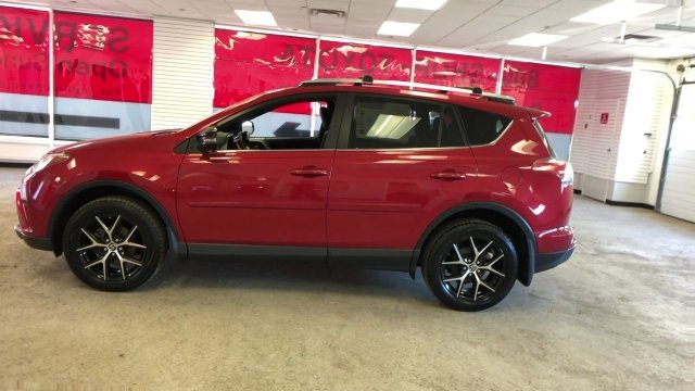 2016 Barcelona Red Metallic Toyota RAV4 SE Automatic Regular Unleaded I-4 2.5 L/152 Engine AWD 4 Door SUV