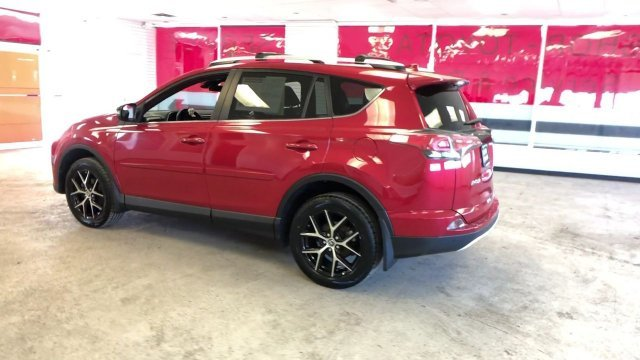 2016 Barcelona Red Metallic Toyota RAV4 SE 4 Door AWD Regular Unleaded I-4 2.5 L/152 Engine