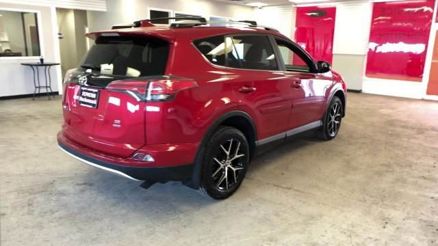 2016 Barcelona Red Metallic Toyota RAV4 SE Regular Unleaded I-4 2.5 L/152 Engine Automatic SUV AWD