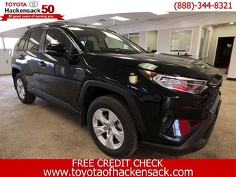 2019 Midnight Black Metallic Toyota RAV4 XLE AWD AWD Automatic SUV