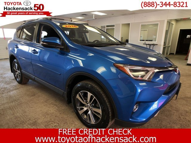 2016 Electric Storm Blue Toyota RAV4 XLE SUV 4 Door AWD
