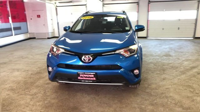 2016 Electric Storm Blue Toyota RAV4 XLE AWD 4 Door Automatic Regular Unleaded I-4 2.5 L/152 Engine SUV