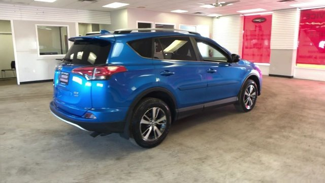 2016 Electric Storm Blue Toyota RAV4 XLE Automatic 4 Door AWD Regular Unleaded I-4 2.5 L/152 Engine SUV