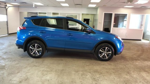 2016 Electric Storm Blue Toyota RAV4 XLE AWD Regular Unleaded I-4 2.5 L/152 Engine Automatic SUV 4 Door