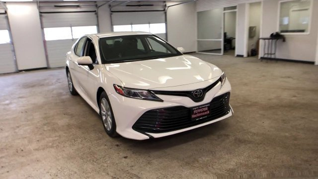 2019 Super White Toyota Camry LE Auto Automatic 4 Door Regular Unleaded I-4 2.5 L/152 Engine FWD