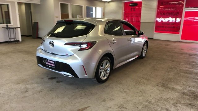 2019 Classic Silver Metallic Toyota Corolla Hatchback Regular Unleaded I-4 2.0 L/121 Engine 4 Door FWD Automatic
