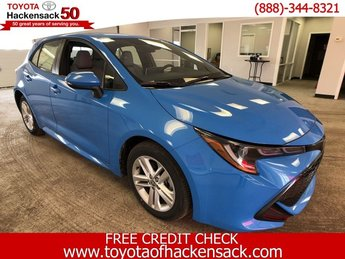 2019 Blue Flame Toyota Corolla Hatchback SE CVT Hatchback Regular Unleaded I-4 2.0 L/121 Engine 4 Door Automatic (CVT) FWD