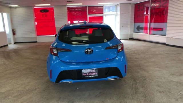 2019 Blue Flame Toyota Corolla Hatchback SE CVT 4 Door FWD Regular Unleaded I-4 2.0 L/121 Engine