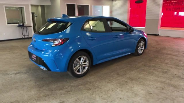 2019 Toyota Corolla Hatchback SE CVT Automatic (CVT) Regular Unleaded I-4 2.0 L/121 Engine FWD 4 Door Hatchback
