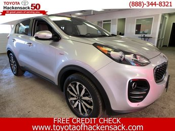 2017 Sparkling Silver Kia Sportage EX AWD SUV 4 Door Automatic Regular Unleaded I-4 2.4 L/144 Engine