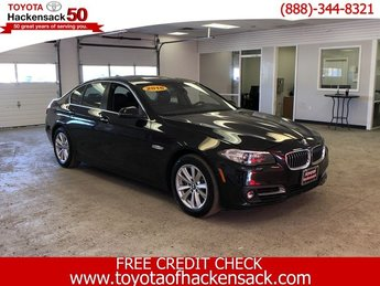 2016 BLACK BMW 5 Series 528i xDrive AWD Automatic Sedan