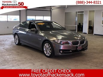 2016 BMW 5 Series 535i xDrive Automatic AWD Sedan Intercooled Turbo Premium Unleaded I-6 3.0 L/182 Engine