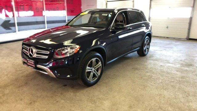 2016 Lunar Blue Metallic Mercedes-Benz GLC GLC 300 Intercooled Turbo Premium Unleaded I-4 2.0 L/121 Engine AWD 4 Door SUV Automatic