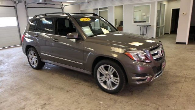 2013 Gray Mercedes-Benz GLK-Class GLK 350 4 Door AWD Automatic