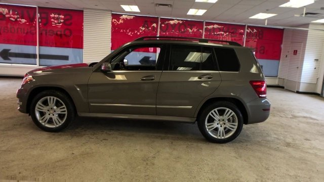 2013 Gray Mercedes-Benz GLK-Class GLK 350 Gas V6 3.5L/213 Engine Automatic SUV 4 Door AWD
