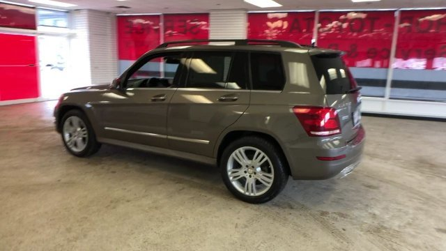 2013 Gray Mercedes-Benz GLK-Class GLK 350 Automatic AWD Gas V6 3.5L/213 Engine 4 Door
