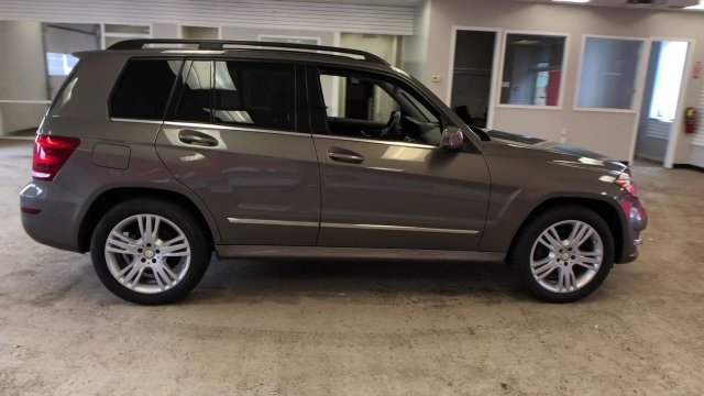 2013 Gray Mercedes-Benz GLK-Class GLK 350 Automatic Gas V6 3.5L/213 Engine 4 Door AWD