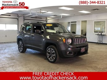 2016 Granite Crystal Metallic Clearcoat Jeep Renegade Latitude 4 Door Automatic Regular Unleaded I-4 2.4 L/144 Engine